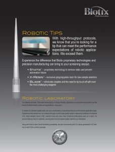 Automation Pipette Tip Brochure