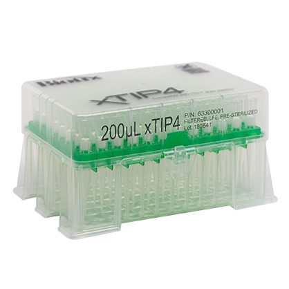 200uL Filtered Rainin LTS Compatible Tips Racked