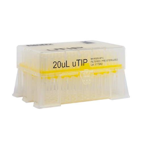 20ul Universal Pipette Tip Racked