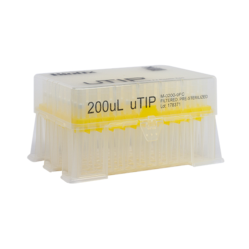 200ul Universal Pipette Tip Racked