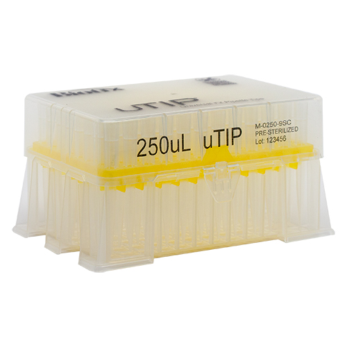 250ul Universal Pipette Tip Racked
