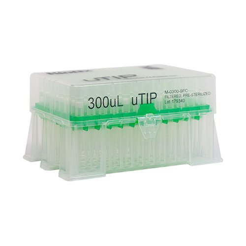 300ul Universal Pipette Tip Racked