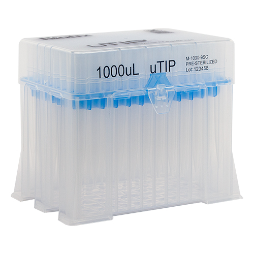 1000ul Universal Pipette Tip Racked